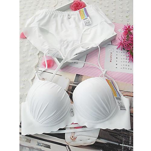 Чистый белый женский сладкий сексуальный бюстгальтер Балкон Gather Lightinthebox 641.000