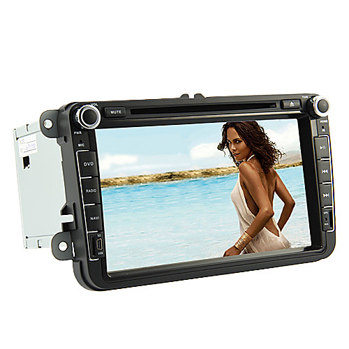 8-дюймовый DVD-плеер автомобиля для Volkswagen (GPS, шины CAN, телевизор, iPod, RDS) Lightinthebox 10312.000