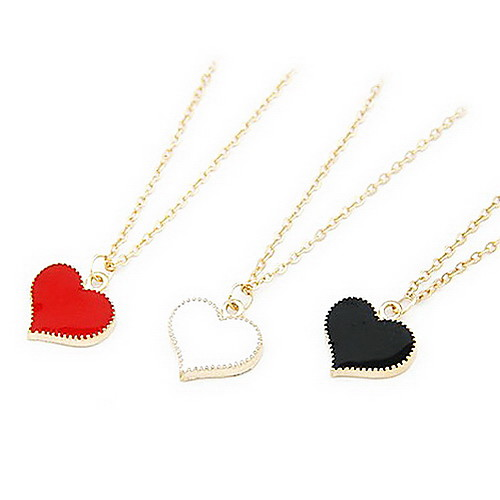 Мода Сладкая Позолоченное ожерелье обрезная форме сердца Lightinthebox 38.000