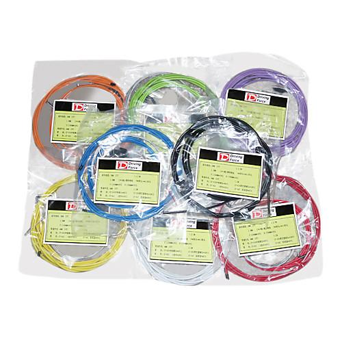Высококачественный кабель 2,5 м 4мм 5мм Сдвиг Тормозные тросики костюм (8 цветов) Lightinthebox 386.000