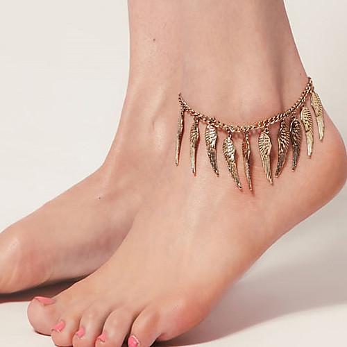 Женщин старинных Angel Wings ножные браслеты Lightinthebox 214.000