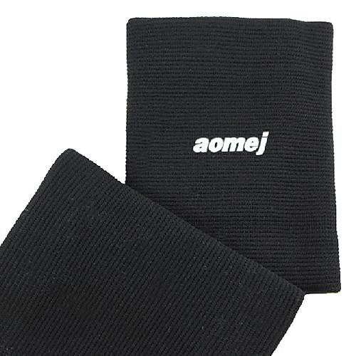 Aomei 70% полиэстер 20% 10% Резиновые спандекс эластичное запястье поддержки (2 шт, черный)