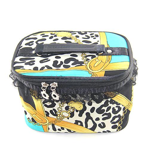 Макияж / косметический мешок с зеркалом Желтый Кружева Leopard Pattern сеть (Random Color, 19x13x12cm) Lightinthebox 308.000
