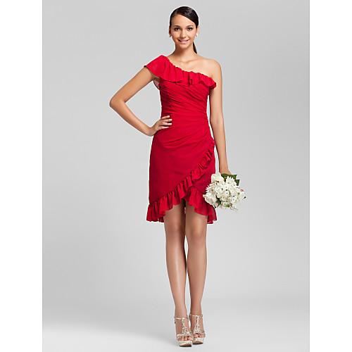 PASTORA - Платье для свидетельницы из шифона Lightinthebox 3854.000