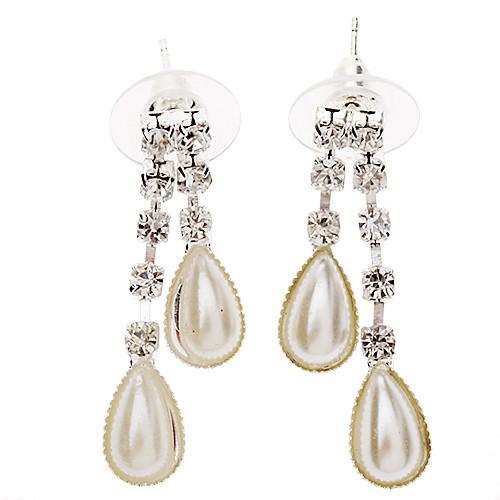 Вышитые перлы цветка серьги  Комплект ювелирных изделий ожерелья