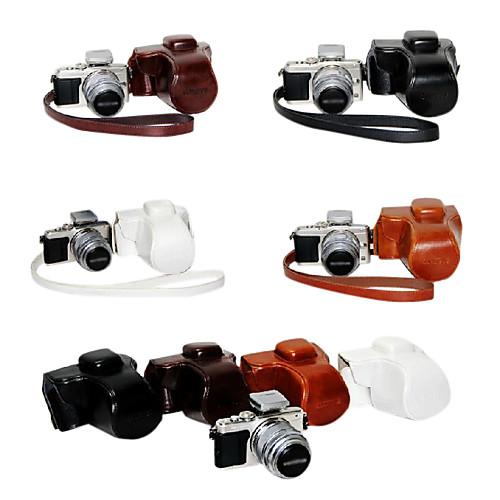 Кожа Камера сумка для Olympus PEN E-EPL3 PL3 E-PM1 PM1 14-42мм черный Lightinthebox 644.000