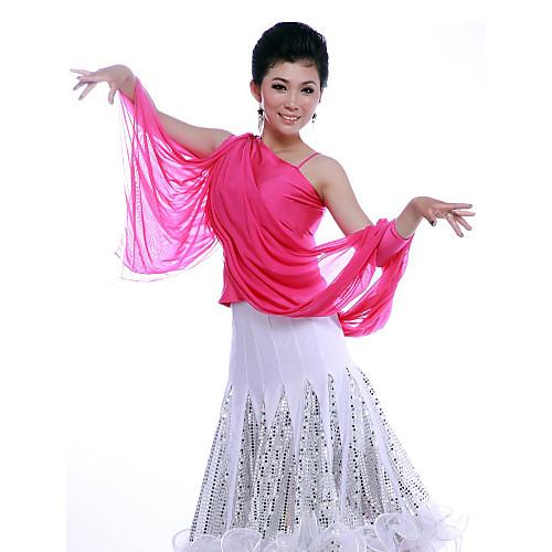 Танцевальная одежда вискоза моды латинских танцев Топ для женщин Lightinthebox 979.000