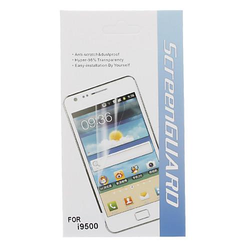 5 в 1 HD экран протектор с Ткань для очистки для Samsung Galaxy i9500 S4 Lightinthebox 171.000