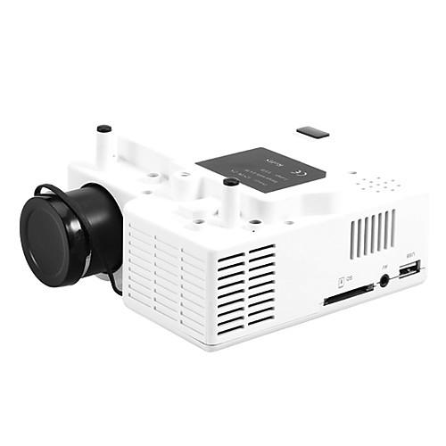 Проектор HD LED миниатюрный домашний 320240 400LM, поддержка портативных ПК VGA USB SD HDMI Lightinthebox 1974.000