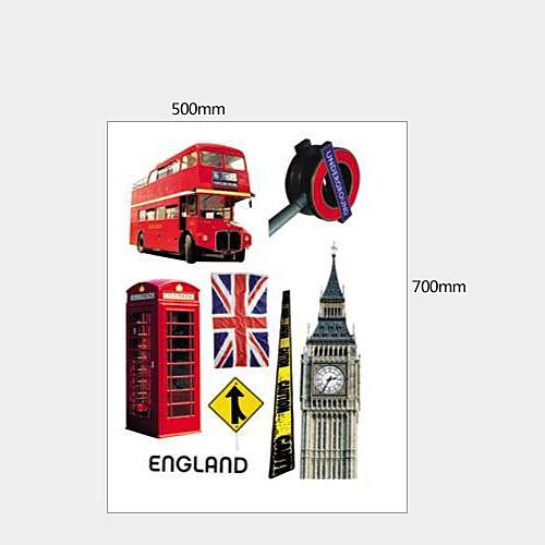 Англия Cityscape стикер стены Lightinthebox 644.000