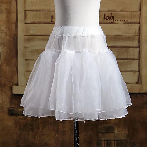 Короткое атласное Классическая Лолита юбка / подъюбник