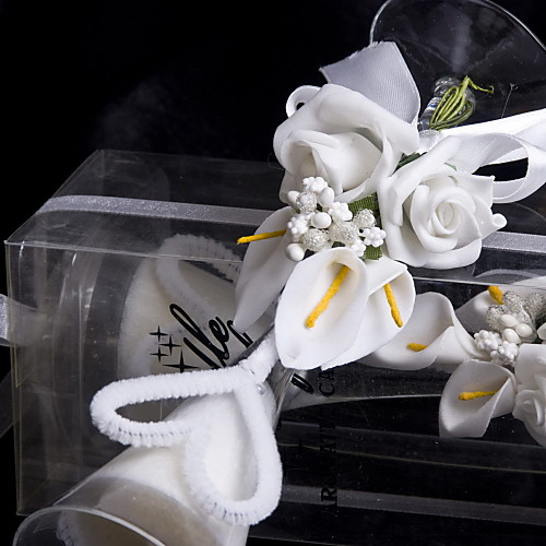 белая лилия свечи чашки Lightinthebox 281.000