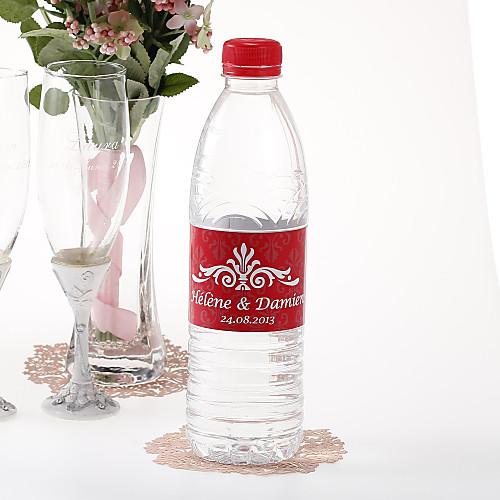 Персонализированные наклейки бутылки воды - Regal (Красный / Набор из 15) Lightinthebox 189.000