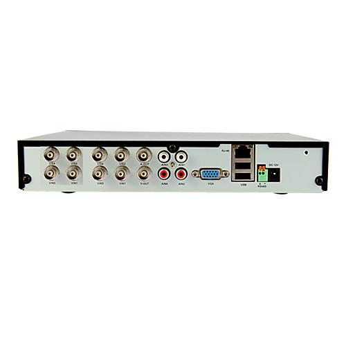 8-канальный DIY система видеонаблюдения с 4 крытыми купольные камеры и 4 водонепроницаемые камеры для Главная & Офис Lightinthebox 6874.000