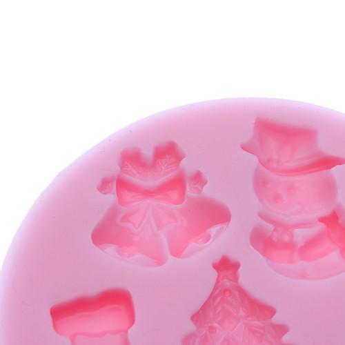 3D Christmas Theme Силиконовые Cookie печенье Mold Lightinthebox 235.000