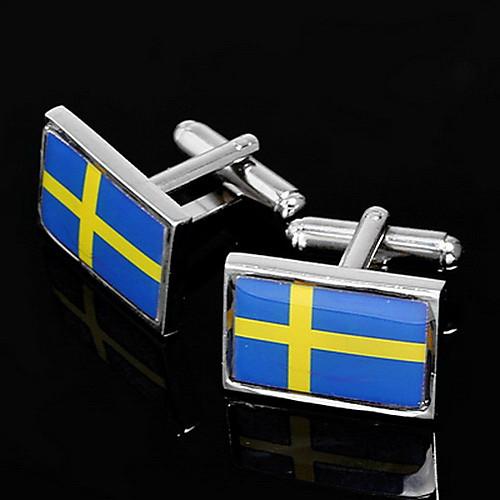 Флаг Швеции Дизайн Запонки Lightinthebox 373.000
