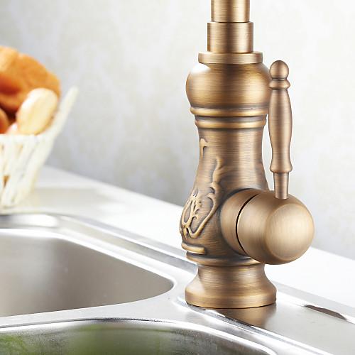 антикварный Смеситель для кухни латунь (античный отделка медь) Lightinthebox 5585.000