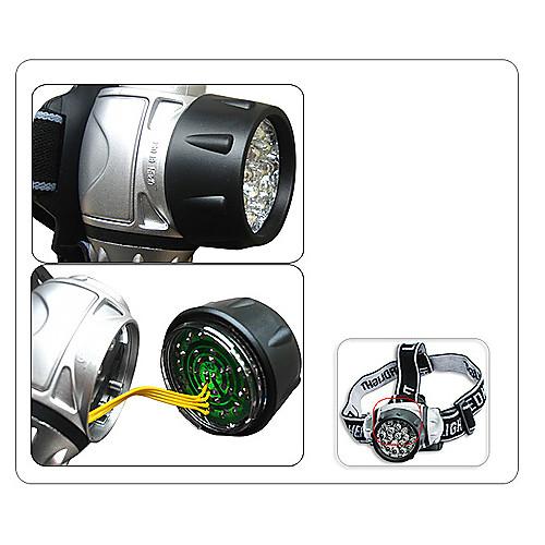 Налобный фонарик с 21 светодиодом для скалолазания Lightinthebox 449.000