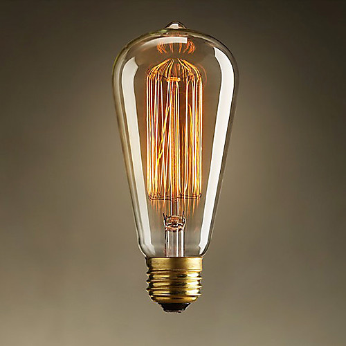 лампа накаливания ретро старинные промышленной накаливания 60w Lightinthebox 429.000
