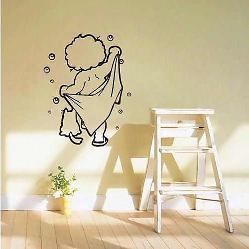 Дети стикер стены ванной комнаты Lightinthebox 858.000