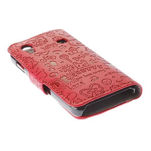 Чехол из кожзама для Samsung Galaxy Ace S5830 Lightinthebox 300.000