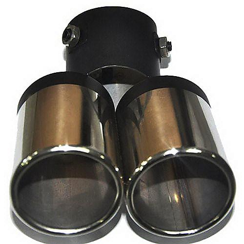 Универсальная из нержавеющей стали глушитель выхлопной трубы автомобиля (63mm-Внутренний диаметр) LMC-M-041 Lightinthebox 472.000