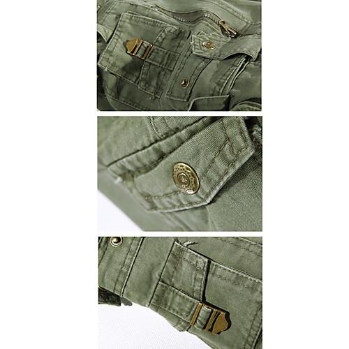 Мужские однотонные брюки с карманами (пояс продается отдельно) Lightinthebox 1312.000