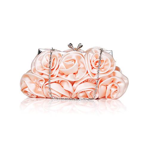 Великолепный сатин цветочного дизайна Свадьба / особых поводов сумки вечер / муфты (другие цвета)