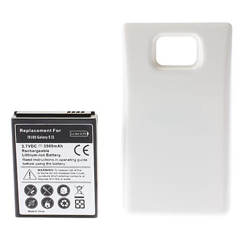 3.7V 3500mAh аккумулятор и жесткий чехол для Samsung Galaxy S2 I9100 Lightinthebox 384.000