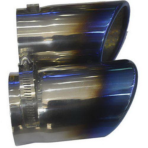 Глушитель из нержавеющей стали для Audi A4 выхлопного газа (70 мм Внутренний диаметр) LMC-M-055 (2 шт) Lightinthebox 1030.000
