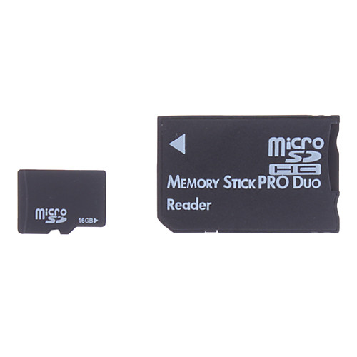 16gb Micro SD / TF карта памяти SDHC и микро SD SDHC для MS адаптер Lightinthebox 515.000