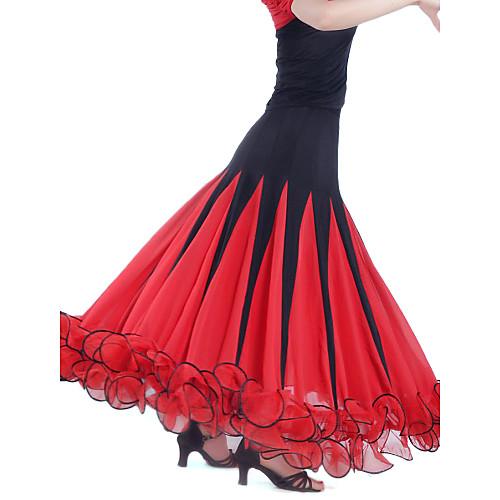 Современная танцевальная одежда вискоза танца юбка для женщин больше цветов Lightinthebox 1774.000