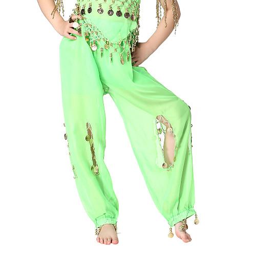 Танцевальная одежда шифон с монетами Нижний живота танца для детей больше цветов Lightinthebox 317.000