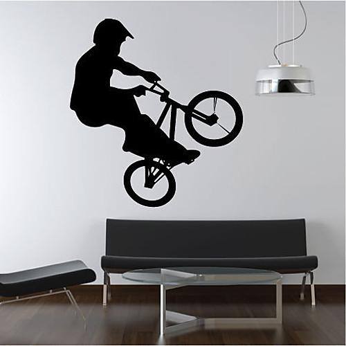 Дети Велосипед стикер стены Lightinthebox 1718.000