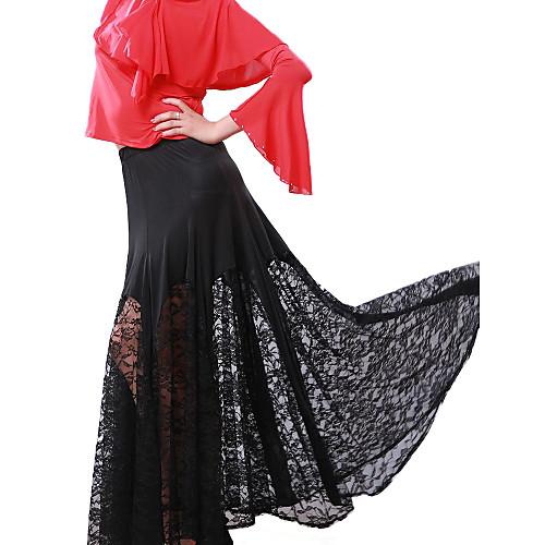 Современная танцевальная одежда вискоза юбки танцевальное для дам
