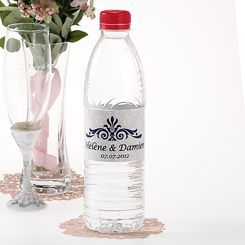 Персонализированные наклейки бутылки воды - Regal (Ecru / Набор из 15) Lightinthebox 189.000