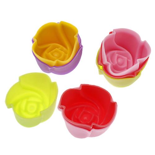 Формочки розы для выпечки (20шт) Lightinthebox 321.000