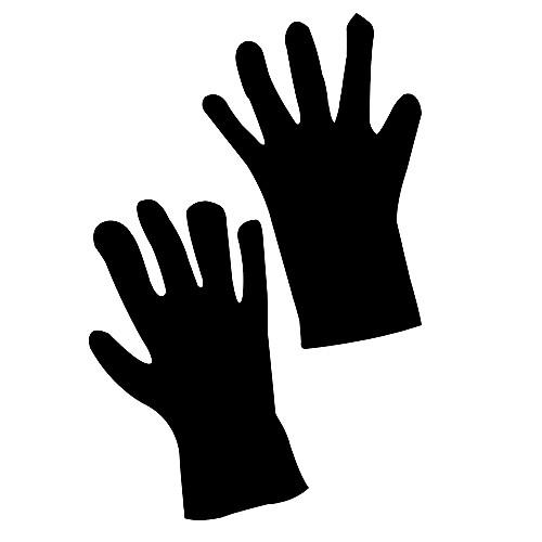 Черные перчатки Матч с отдыха Костюмы Lightinthebox 214.000