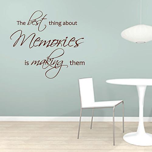 Лучше всего об Воспоминания делает их стикер стены Lightinthebox 1073.000