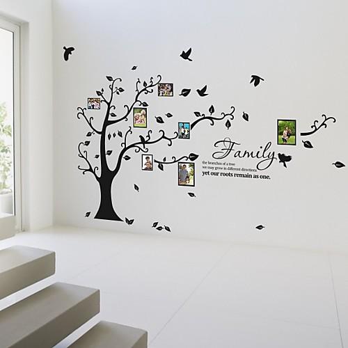 фоторамка стены наклейки цветы жизни деревьев ботанические моющиеся наклейки на стены Lightinthebox 1288.000