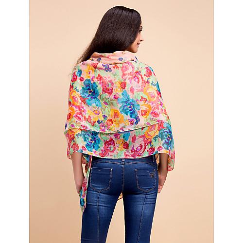 красочные вуаль с рисунком ежедневно носить шарф / шаль (больше цветов) Lightinthebox 171.000