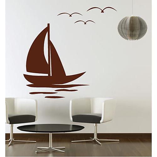 Sail Boat стикер стены Lightinthebox 1288.000