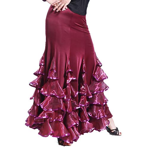 Производительность вискоза танцевальная одежда и тюля Современные танца юбка для дам Lightinthebox 2135.000