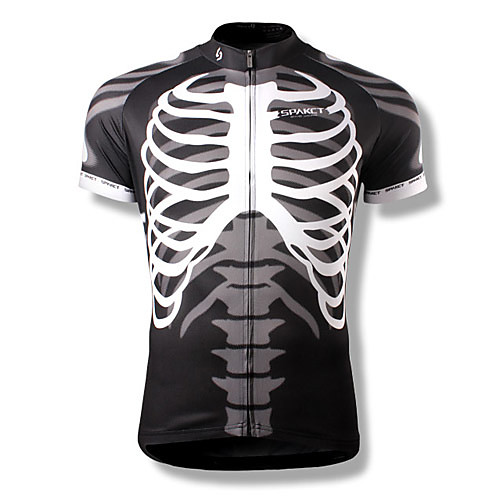 Мужская велосипедная футболка SPACT с короткими рукавами из 100% полиэстра Lightinthebox 1288.000