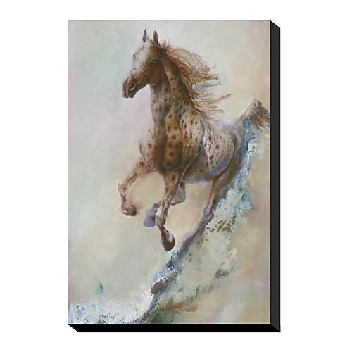 Канва искусства животными Аппалуза Управляемый Denton Lund с растянутыми кадра Lightinthebox 1718.000
