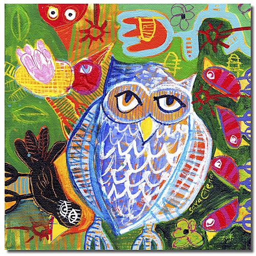 Канва искусства животными Shenanigans Сара Катена с растянутыми кадра Lightinthebox 1073.000