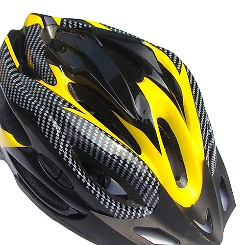 SHY Материалы EPS Четыре сезона Применяется Ajustable Шлемы Велоспорт (19 Вентиляционные отверстия, черный и желтый) Lightinthebox 858.000