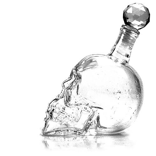 Стеклянный графин в форме черепа Lightinthebox 644.000