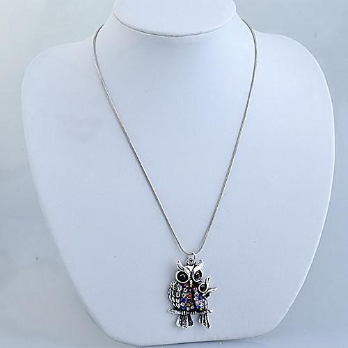 Мода Multi-Color матери и ребенка Совы ожерелье Lightinthebox 77.000