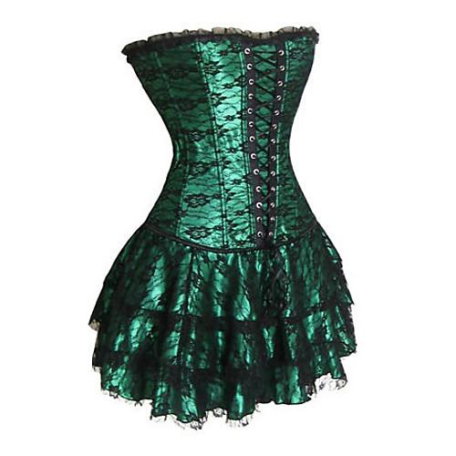 Шнурок темного замка цветок шелкового корсета Gothic Lolita (без юбки) Lightinthebox 1718.000
